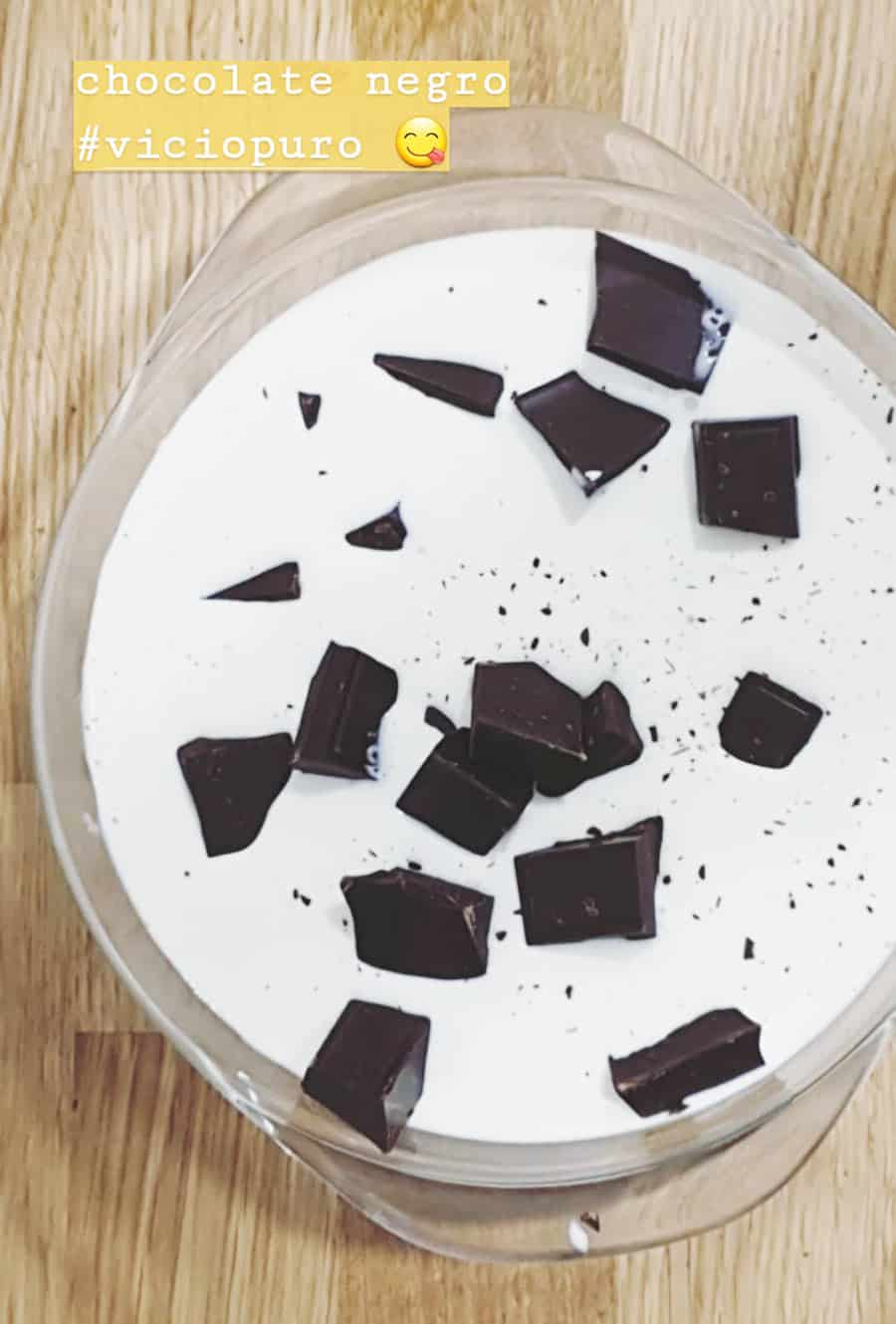 ganache chocolate negro