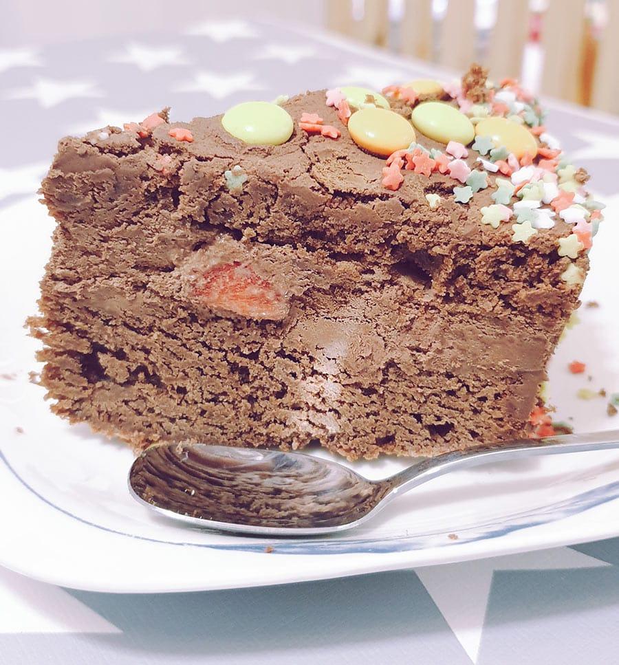 tarta cumpleanos facil