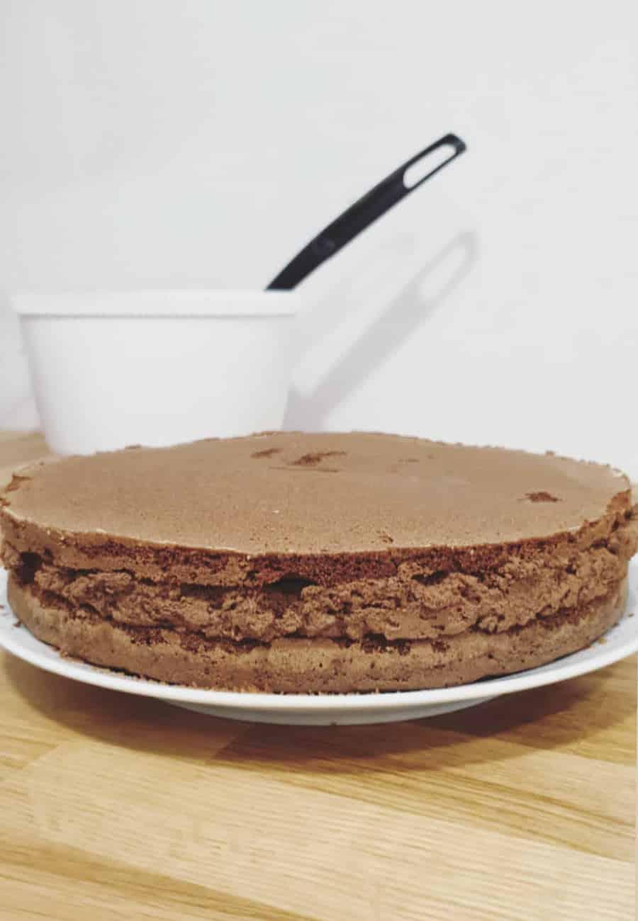 tarta casera paso 2