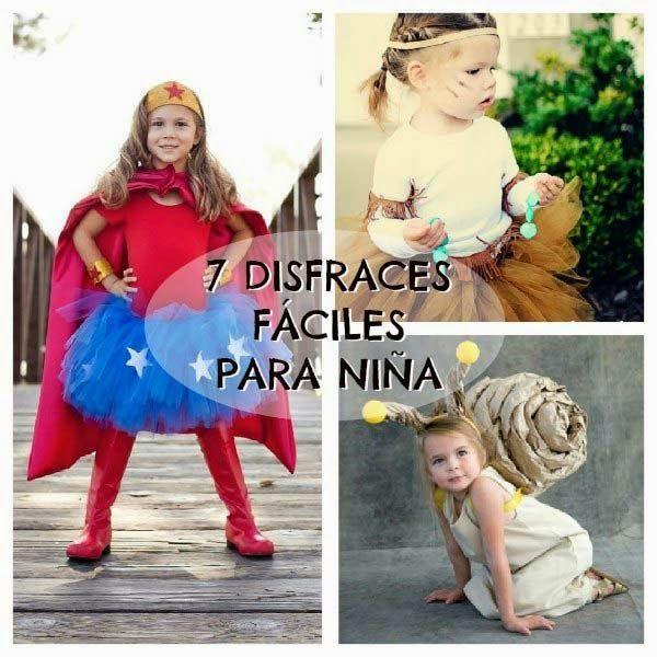7 Disfraces Para Niñas Fáciles De Hacer Halloween Y Carnaval
