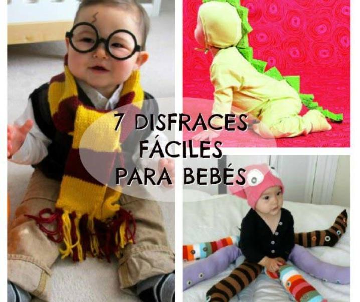 Diy 7 Disfraces Para Bebés Fáciles De Hacer Blog Para Madres Y Padres