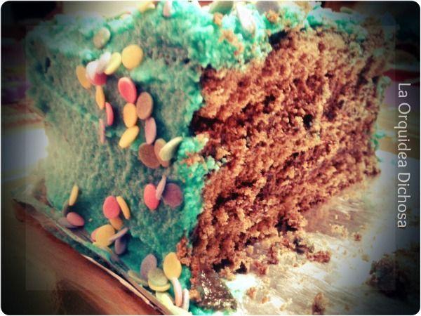 relleno de tartas de colores