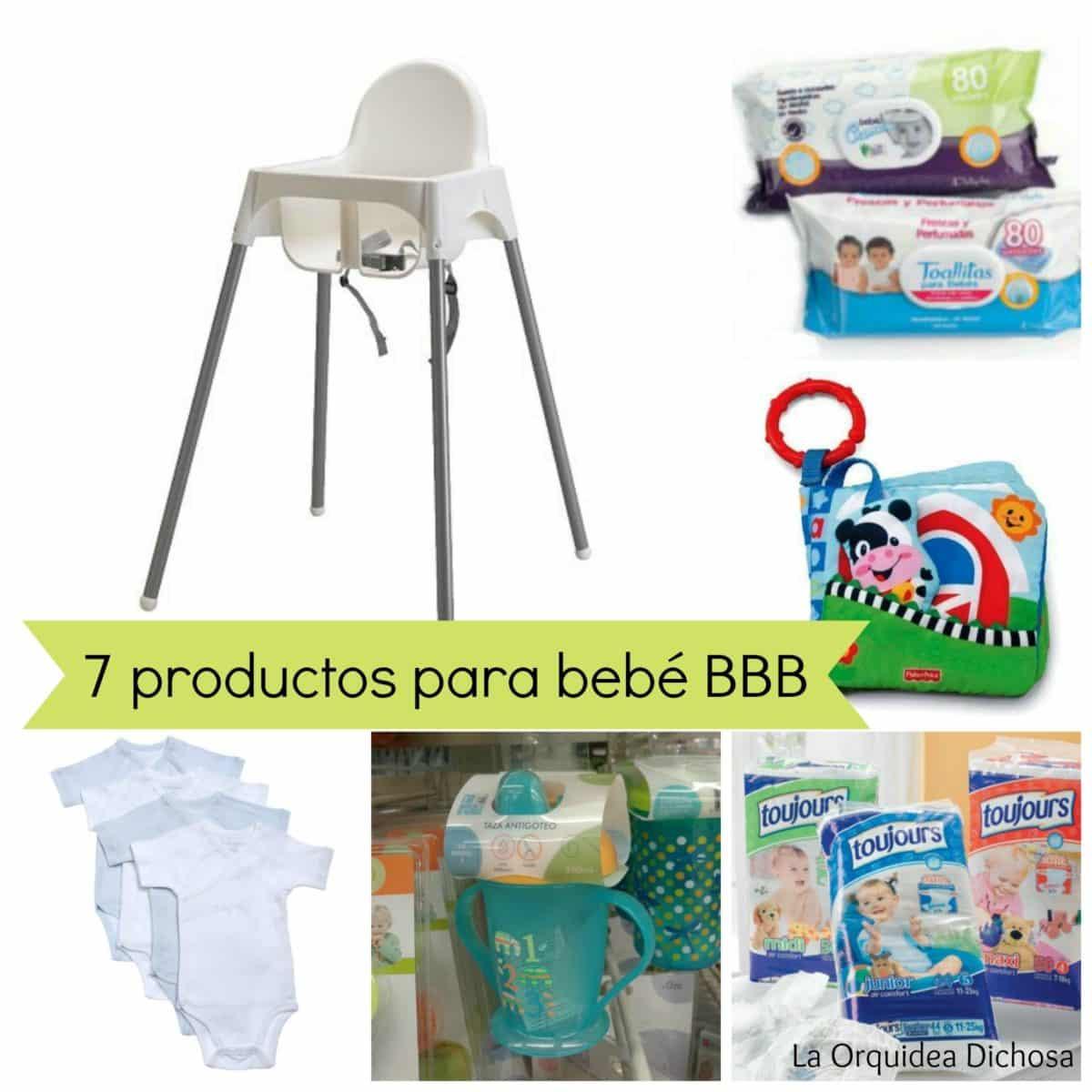 imprescindibles para bebés