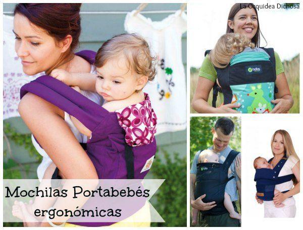 Mochilas portabebés ergonómicas