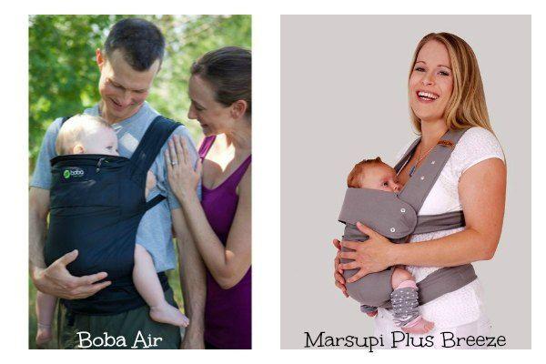 mochilas portabebés Boba Air y Marsupi Plus Breeze