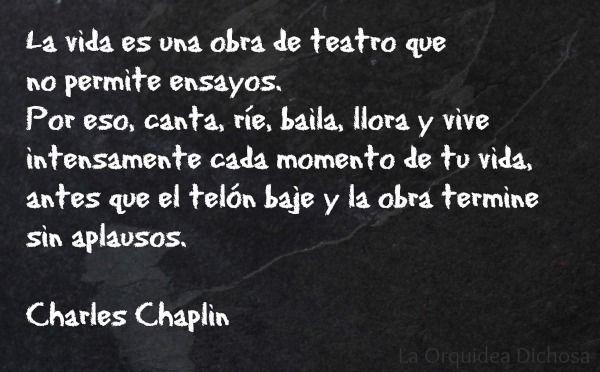 feliz lunes Charles Chaplin