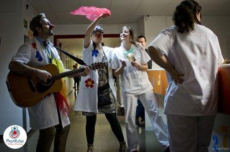pallapupas pallasos de hospital