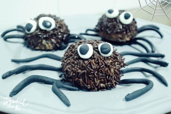 galletas halloween arañas