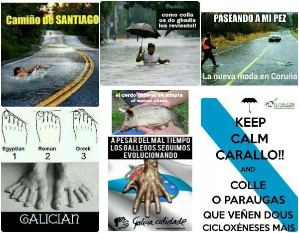 chistes sobre el clima gallego