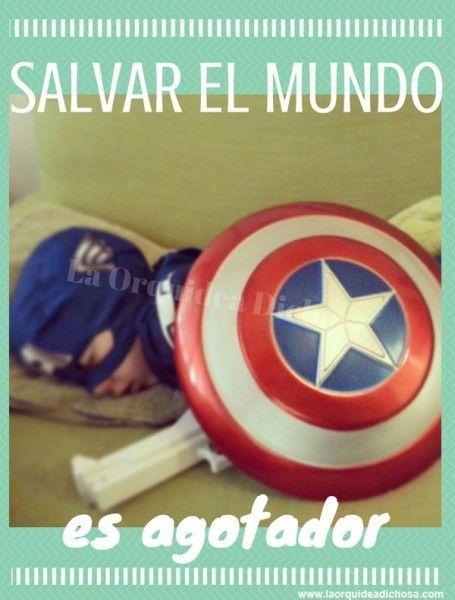 salvar el mundo es agotador