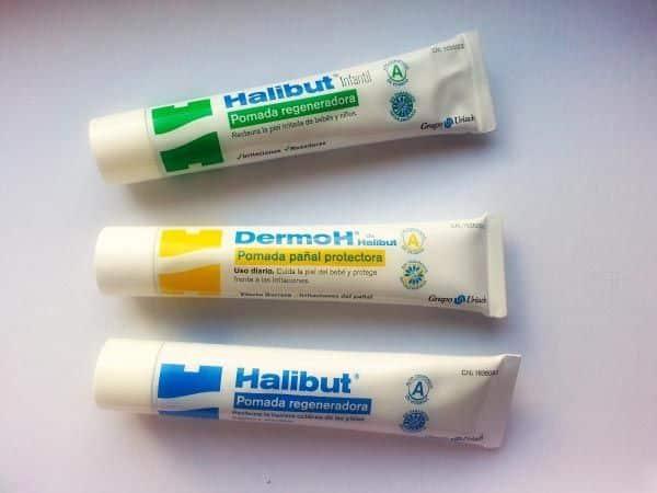 Cremas para bebés y pieles sensibles de Halibut
