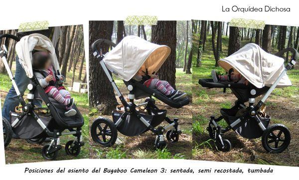 Posiciones asiento Bugaboo Cameleon 3