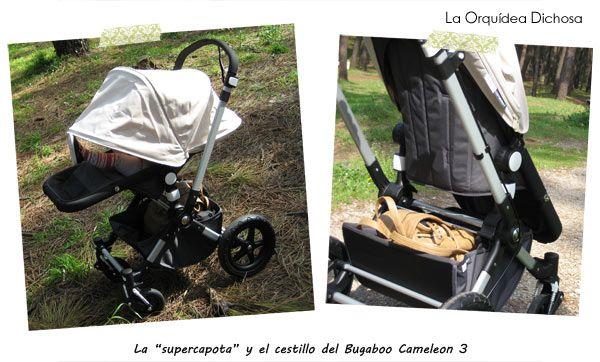 Supercapota y cestillo Bugaboo Cameleon 3
