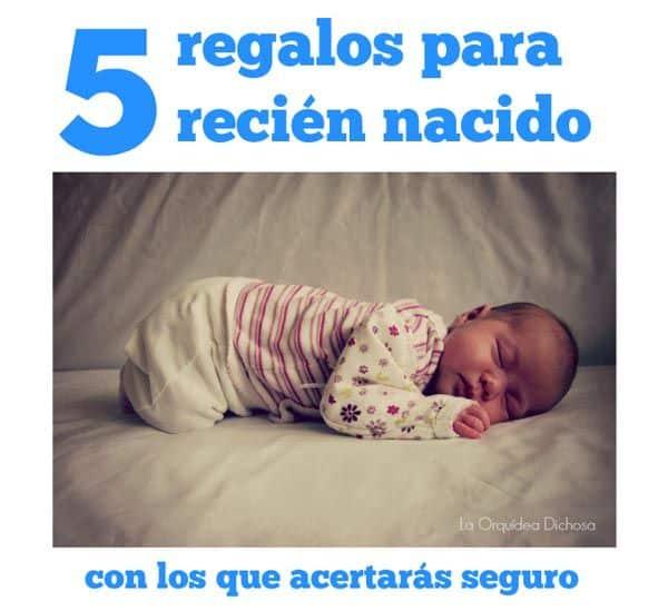 Regalos para recién nacido con los que acertarás seguro