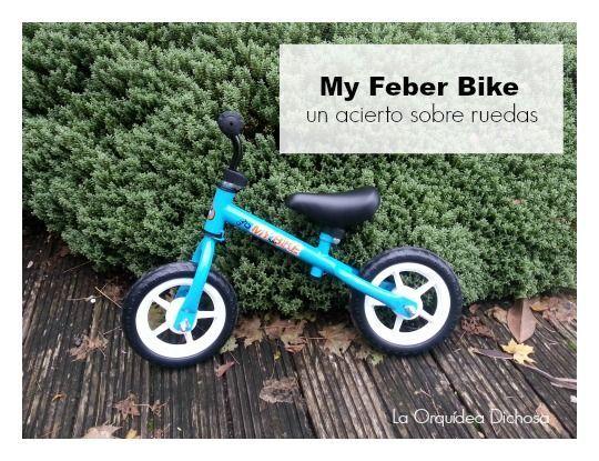 Bicicleta sin pedales My Feber bike