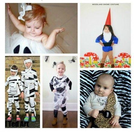 disfraces rápidos caseros de niña niño o bebé