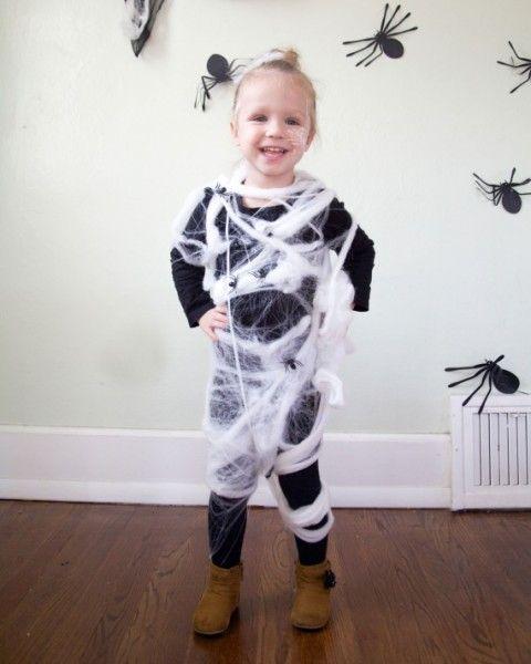 disfraz de tela de araña