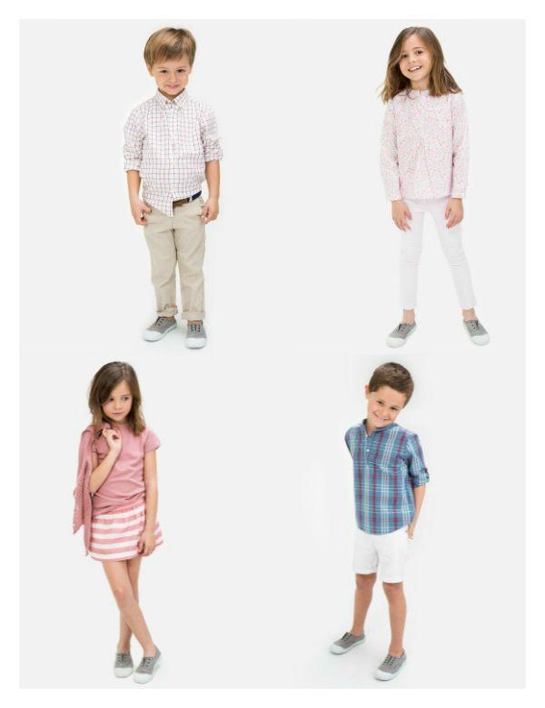 ropa niños y niñas primavera verano 2015