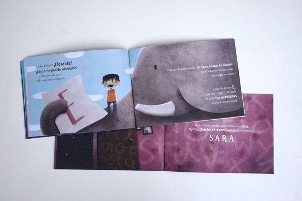 libro personalizado El niño que perdió su nombre