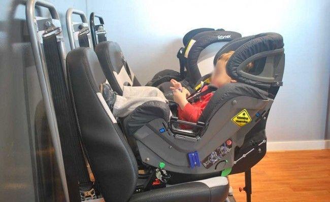 sillas de coche a contramarcha
