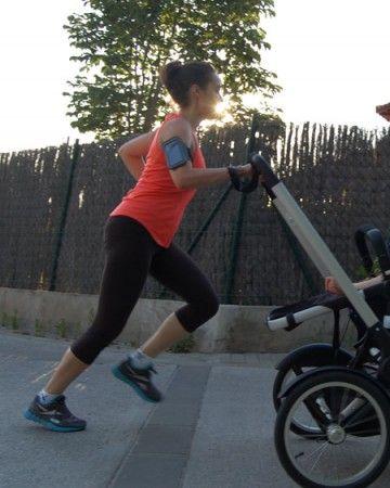 correr con bebés