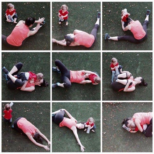 como hacer ejercicio con un bebé