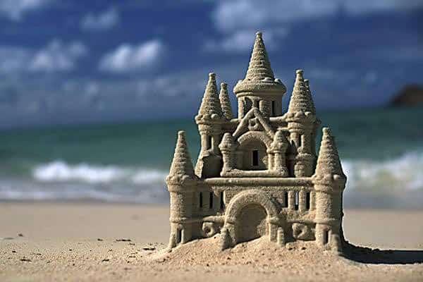 castillo de arena