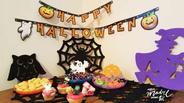 decoración fiesta de halloween