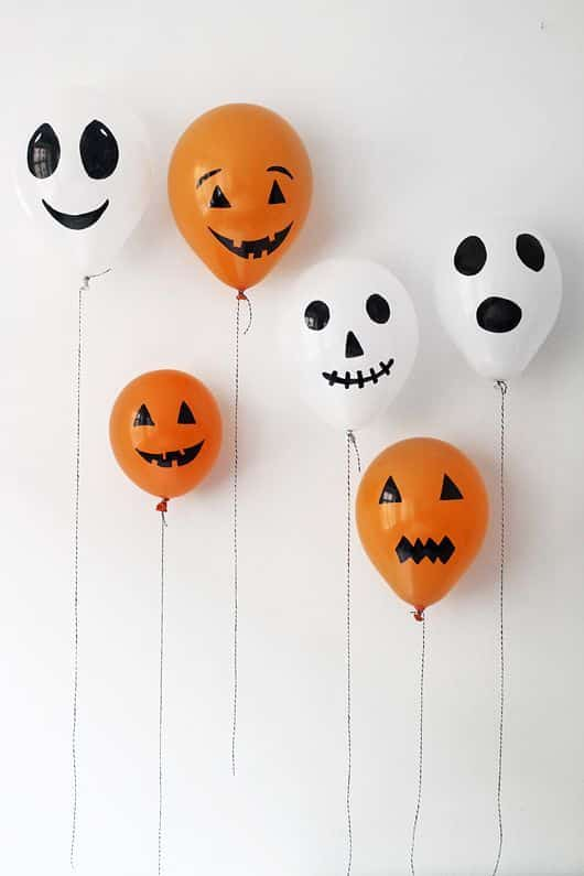 globos decoracion halloween