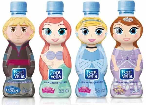 nuevas botellas fontvella kids