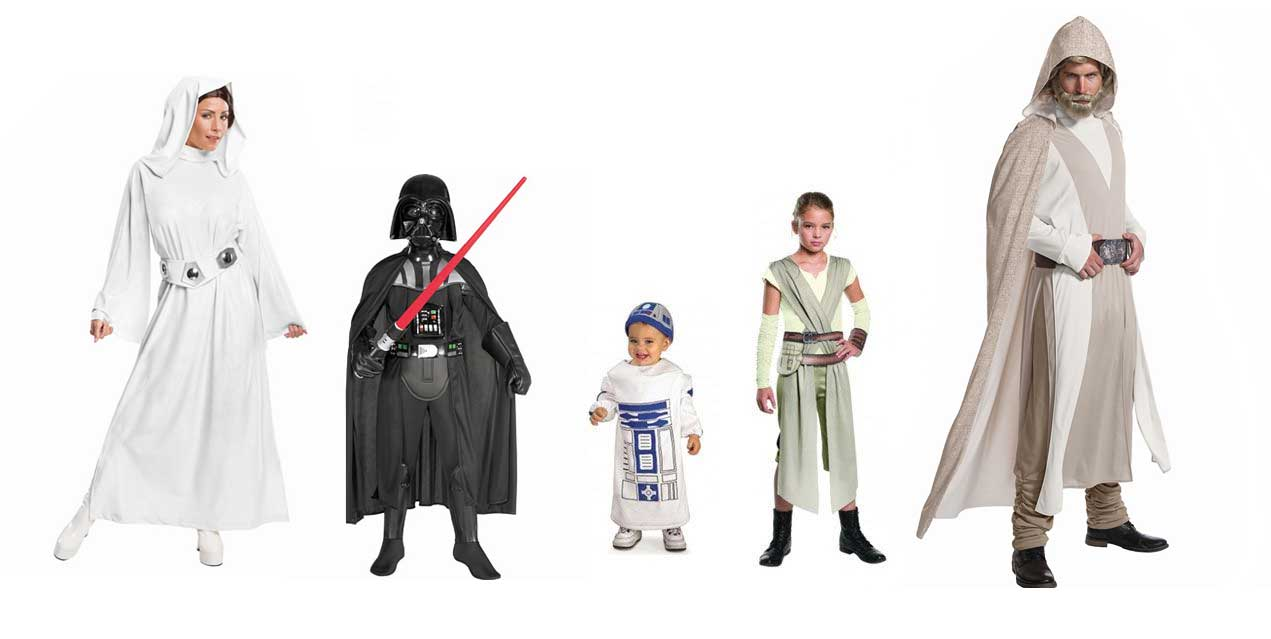 disfraces de carnaval star wars