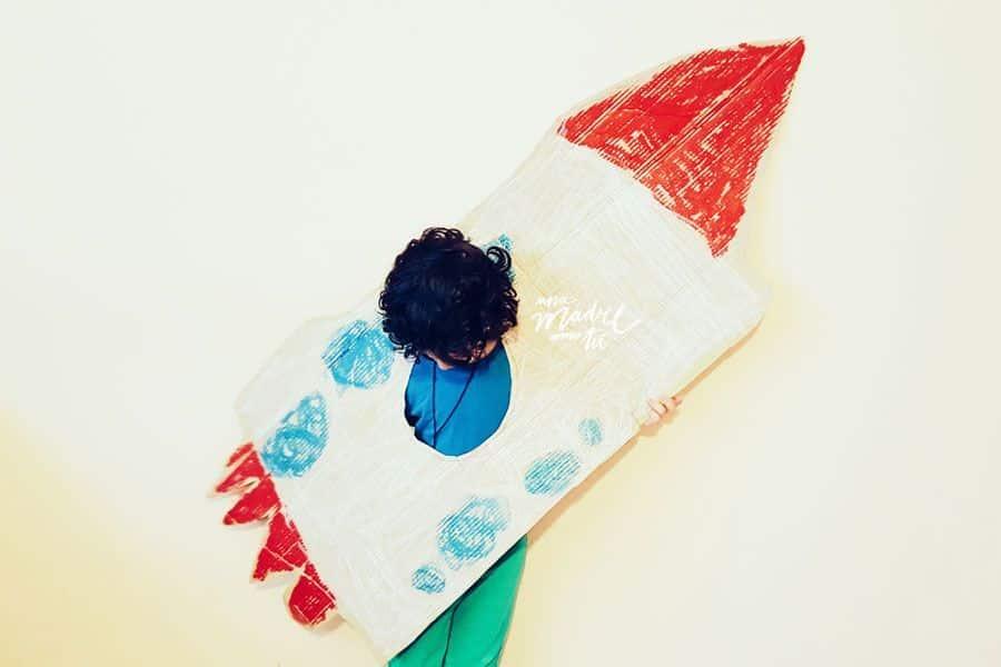 el día que mi hijo hizo un cohete