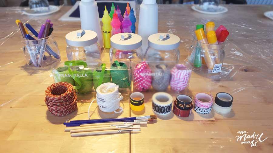 materiales taller ikea InspirAcción