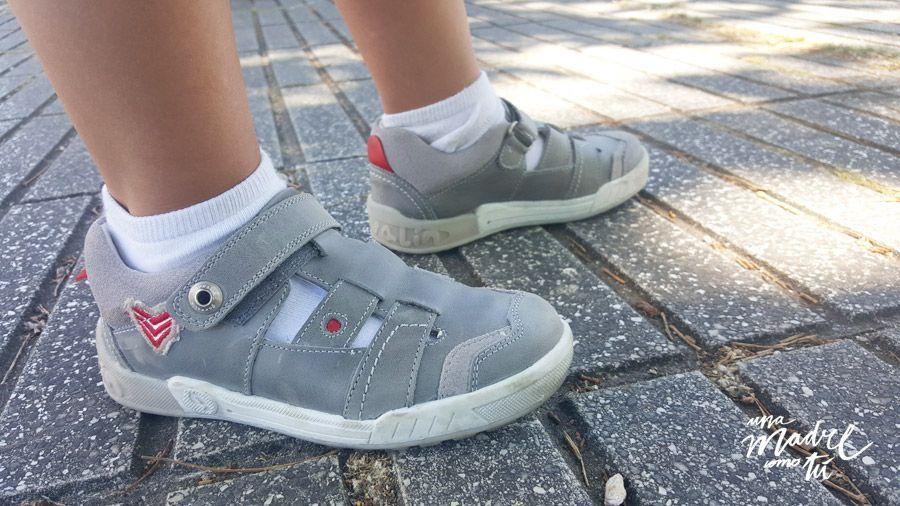 como elegir zapatos para niños