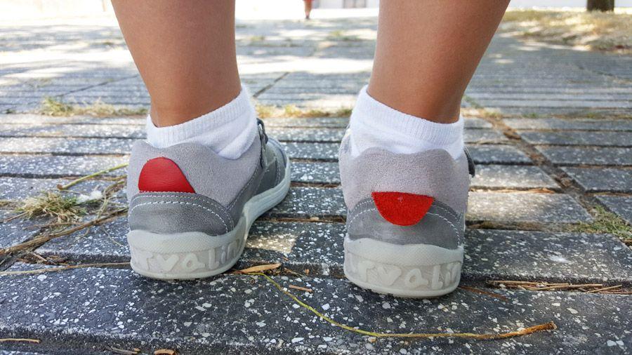 la suela en el calzado infantil