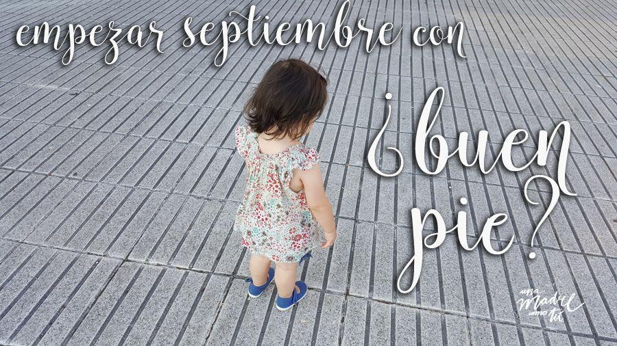 cómo empezar septiembre con buen pie
