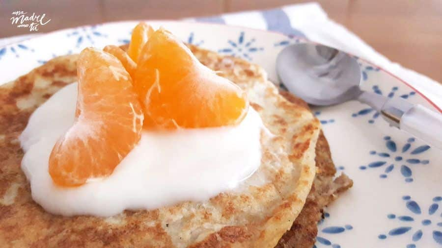 tortitas de quinoa al yogurt