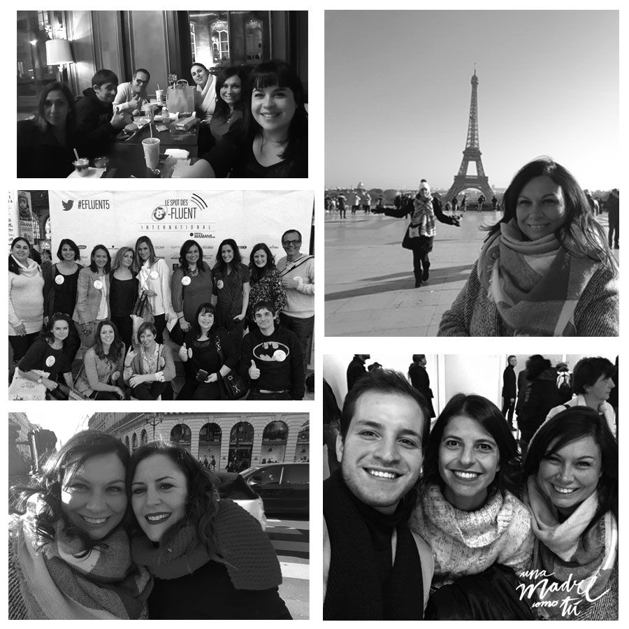 bloggers españolas en Efluent París