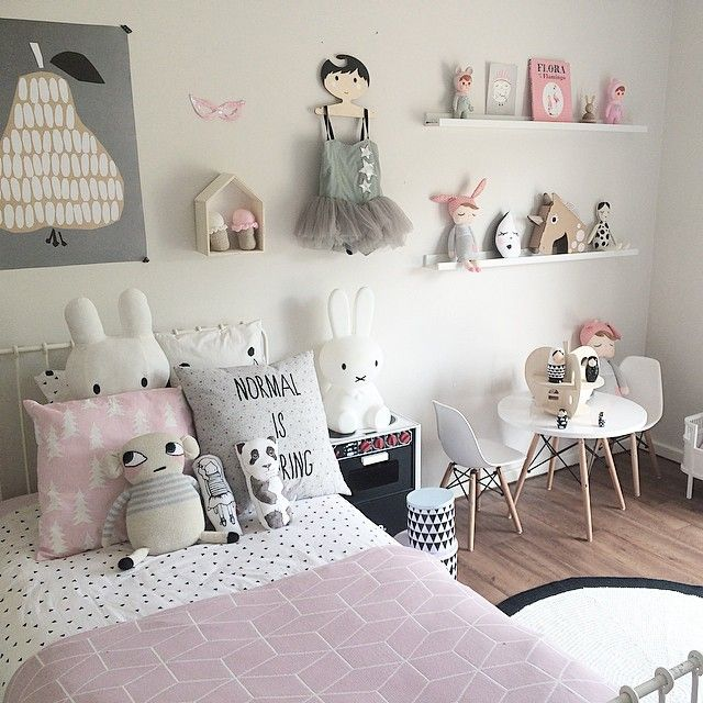 habitación estilo dulce
