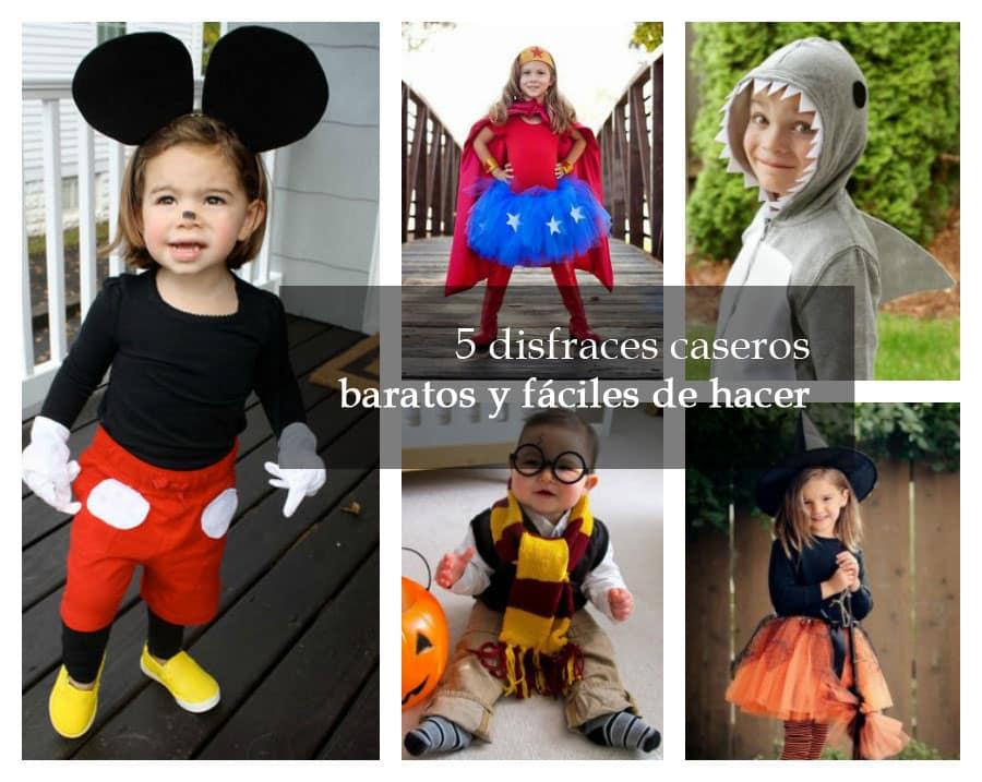 Cinco Disfraces De Halloween Baratos Menos De 10 Euros - Como-hacer-un-disfraz-casero