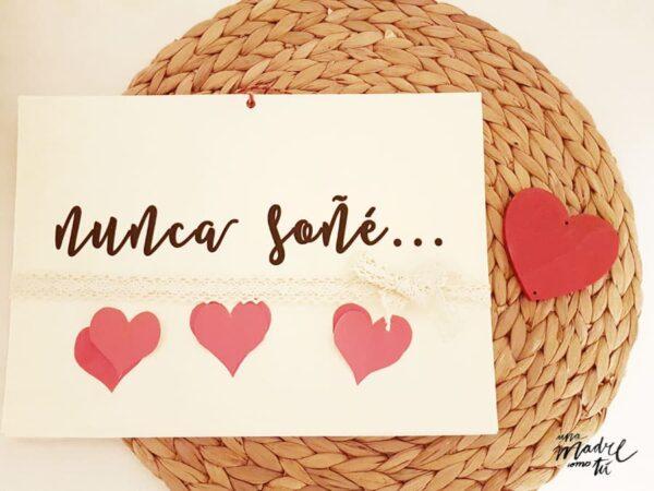 Tarjeta San Valentin imprimible