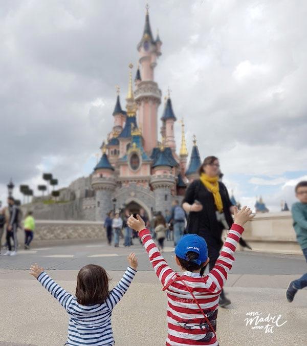 ¡¡mamáaa, estamos en Disney!!