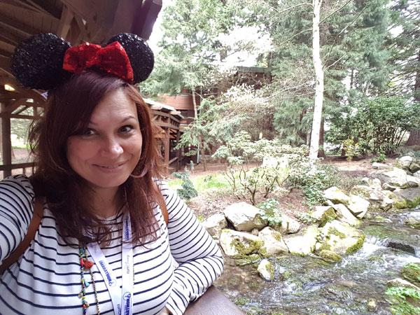 jardines del Hotel Sequoia Lodge Disneyland París