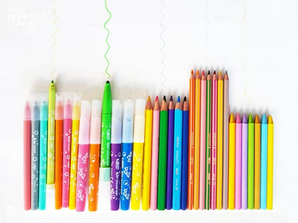 rotuladores y lápices de colores bic kids