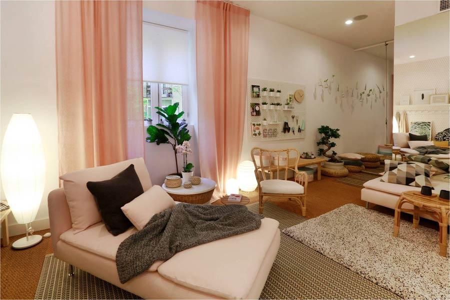 Tres lecciones de decoraci n para mi nuevo piso que aprend en el hotel sal n de ikea una - Ikea decoracion salon ...