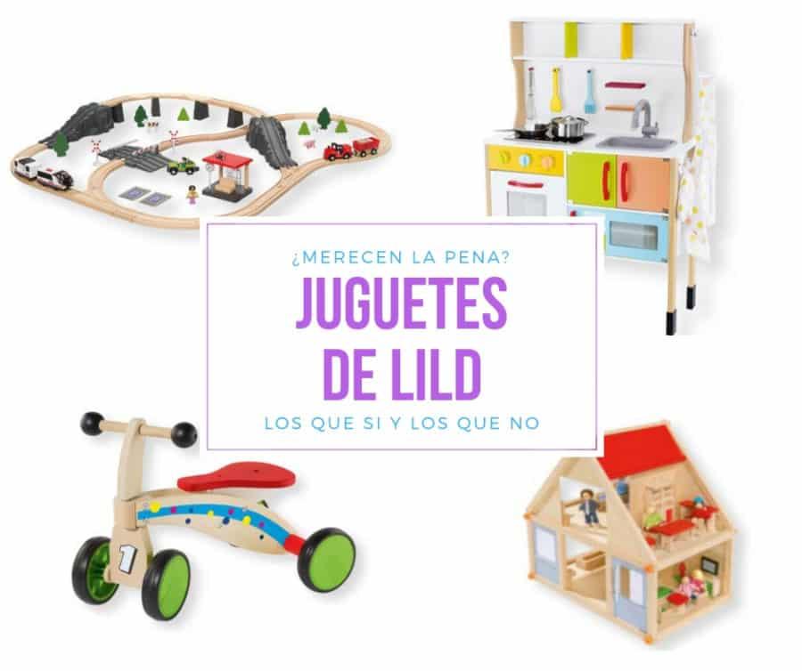 Los juguetes de madera de lidl