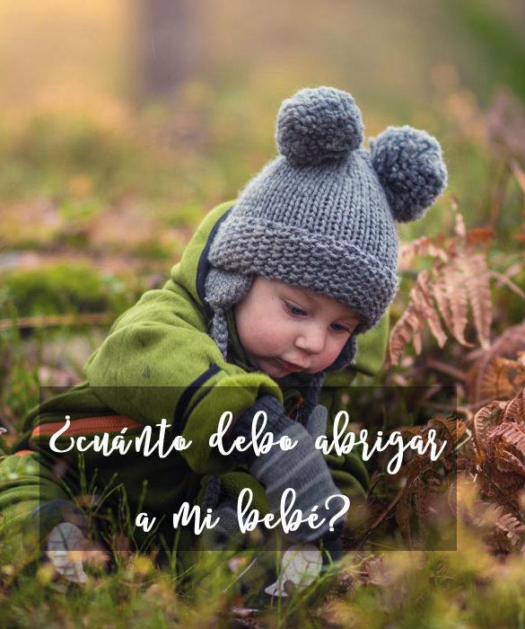Cómo abrigar correctamente a los bebés