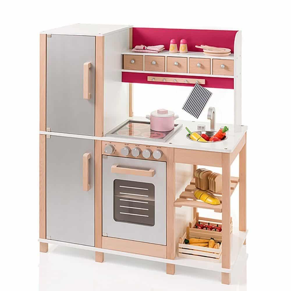 cocinita madera moderna