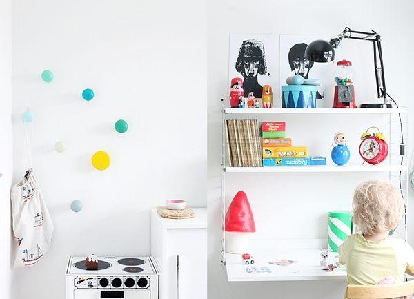 decorar zonas estudio infantiles