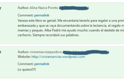 ganadoras libro Alba